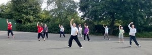Qigong stretching with www.paulhoughton.co.uk